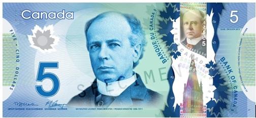 5 Dollar Bill